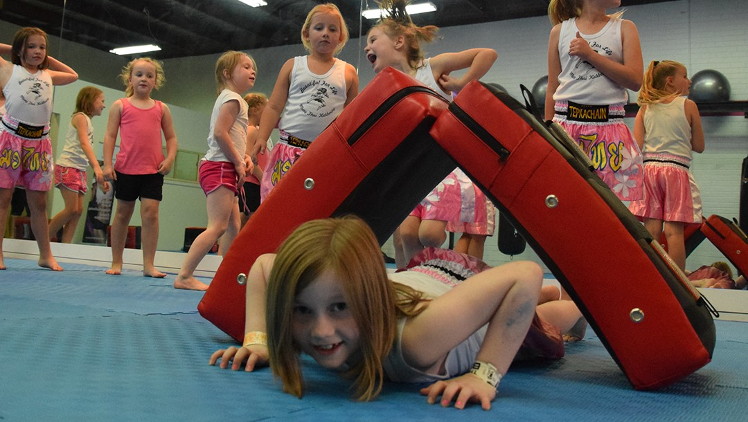 Bully Busting using Girl Power Kickboxing